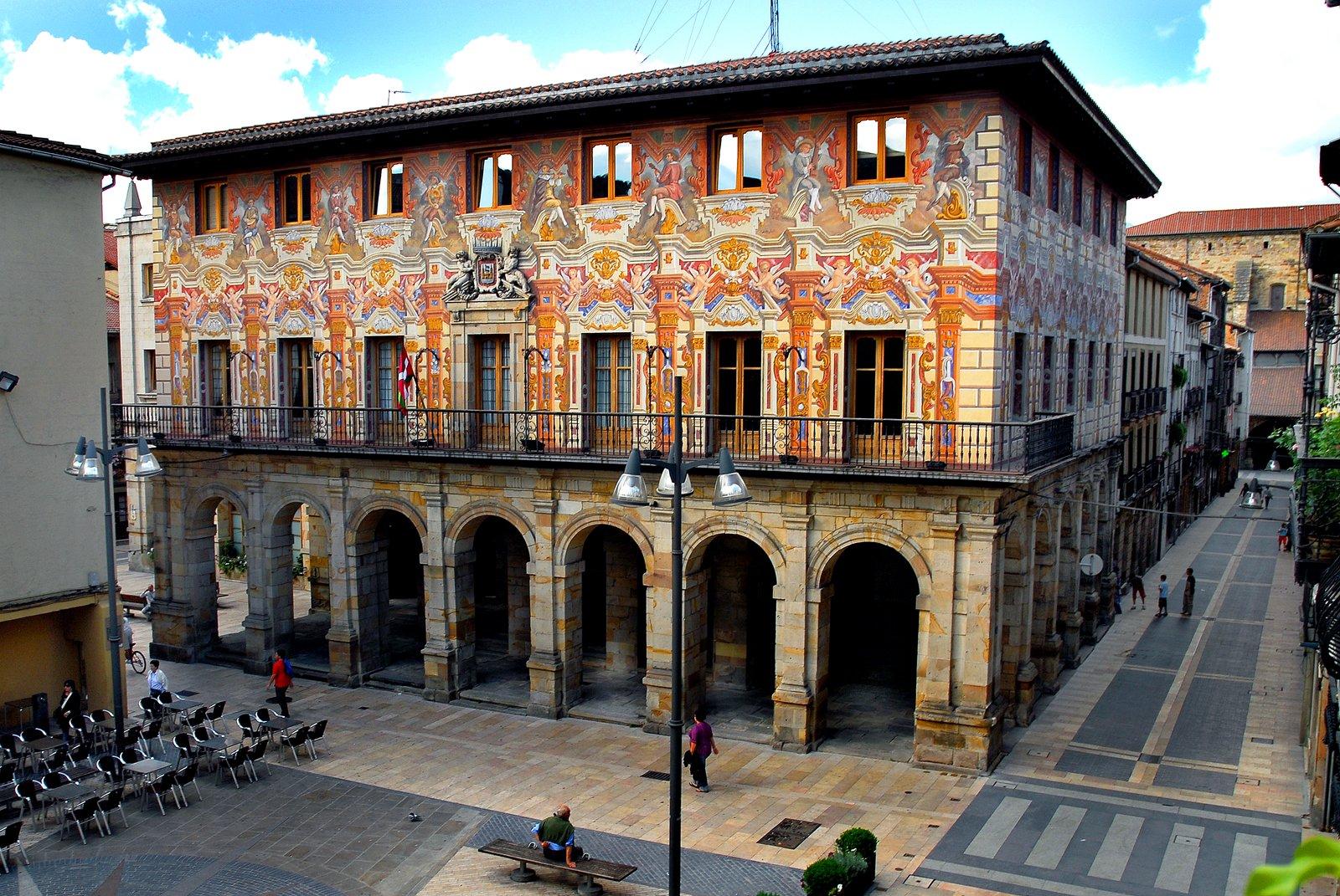 Gc5f9gm ayuntamiento de durango traditional cache in for Oficinas turismo bilbao